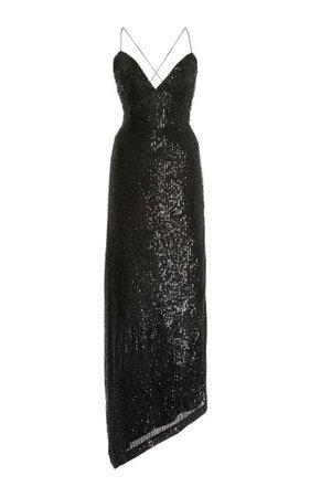 Violet Sequined Maxi Dress By Retrofête | Moda Operandi