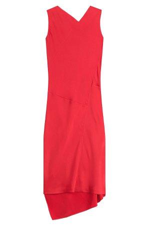 Asymmetric Draped Dress Gr. IT 42