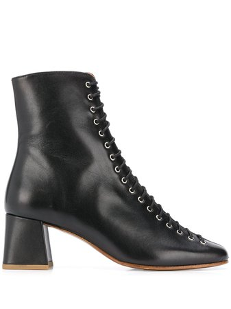 BY FAR lace-up Ankle Boots - Farfetch