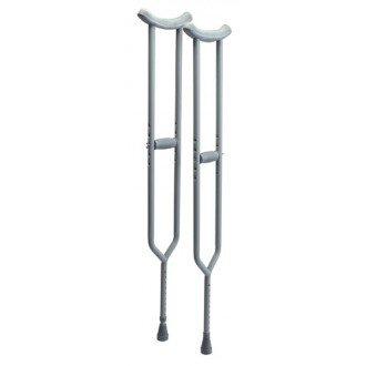 Bariatric Imperial Steel Crutches   1800wheelchair.com