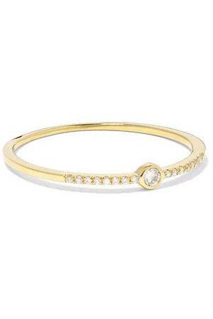 Jennifer Meyer | 18-karat gold diamond ring | NET-A-PORTER.COM