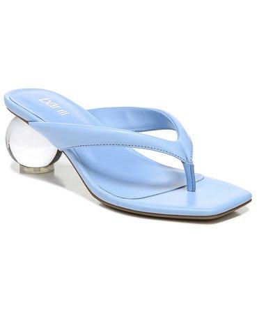Bar III Corteta Thong Ball-Heel Sandals, Created for Macy's & Reviews - Sandals - Shoes - Macy's