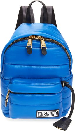 Puffy Nylon Backpack