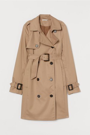 MAMA Trenchcoat - Beige - Ladies | H&M US