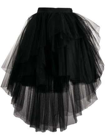 Brognano asymmetric tulle skirt $457 - Buy Online AW19 - Quick Shipping, Price