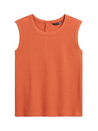 JAPAN EXCLUSIVE Waffle-Knit Tank | Banana Republic