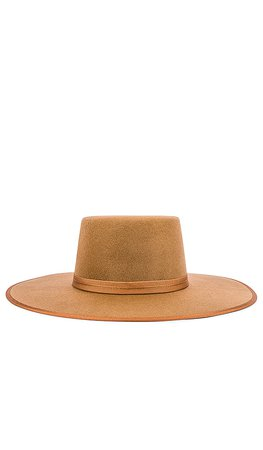 Lack of Color Teak Rancher Boater Hat in Brown | REVOLVE