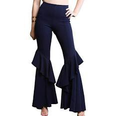 flared trousers navy blue - Google Search