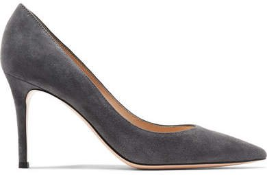 85 Suede Pumps - Dark gray