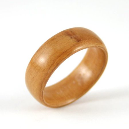 Wooden Ring Made From Apple Wood - Harestree