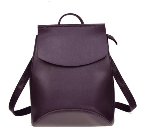 Ella - Ladies Leather Backpack Purse - Pelle Candori $44