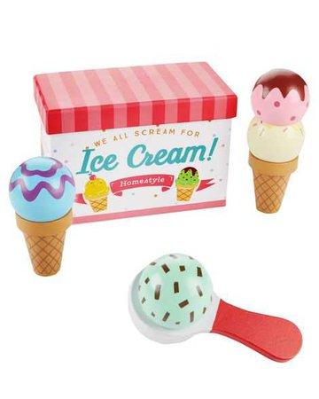 Baby Girl Wooden Ice Cream Set | Carters.com