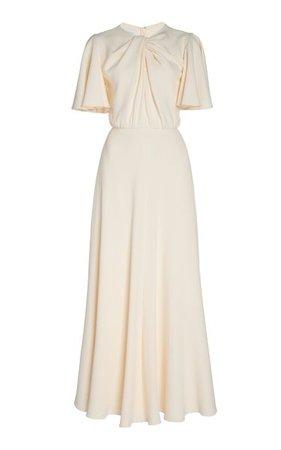 Twist-Detailed Crepe Maxi Dress By Giambattista Valli | Moda Operandi