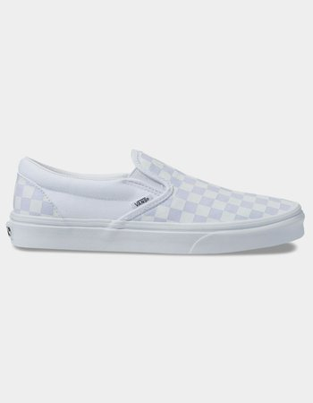 VANS Checkerboard Classic Slip-On True White Shoes - CHECK - 353189917 | Tillys