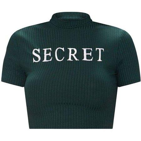 Secret Crop Top