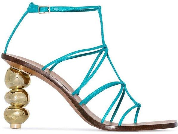 Pietra 90 strappy sandals