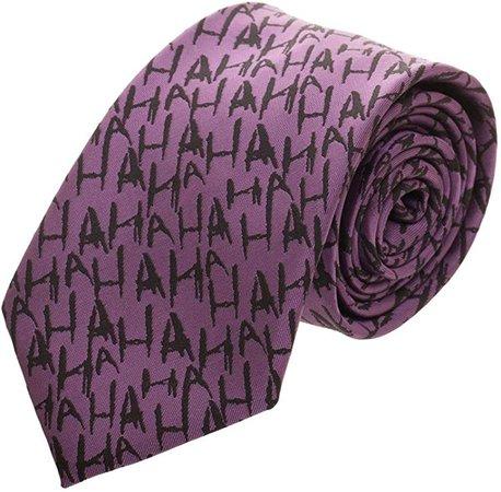 Amazon.com: The Joker Micro Print Neck Tie Standard: Clothing