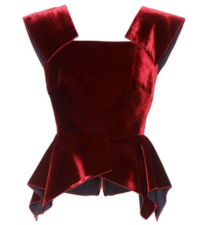Exclusive to mytheresa.com – Merley velvet top