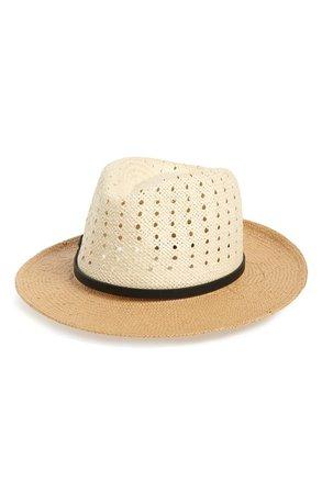 Halogen® Woven Panama Hat   Nordstrom