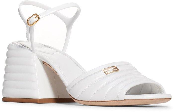 Promenade Ankle Strap Block Heel Sandal