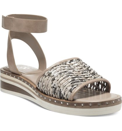 Vince Camuto Minniah Ankle Strap Wedge Sandal (Women) | Nordstrom