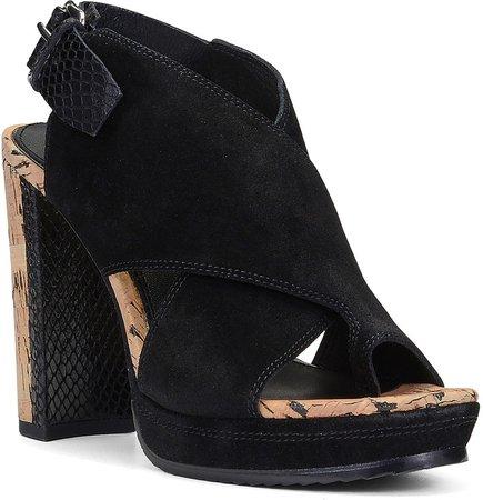 Jayton Suede Platform Sandal