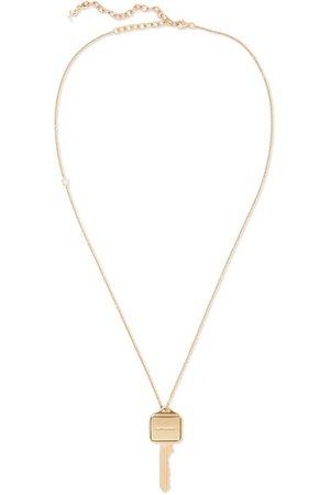 Saint Laurent | Gold-tone necklace | NET-A-PORTER.COM