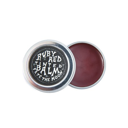 Ruby Red Tinted Balm - Fat and the Moon