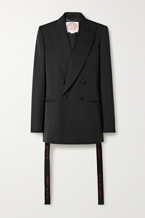 Stella McCartney | We Are The Weather oversized wool blazer | NET-A-PORTER.COM