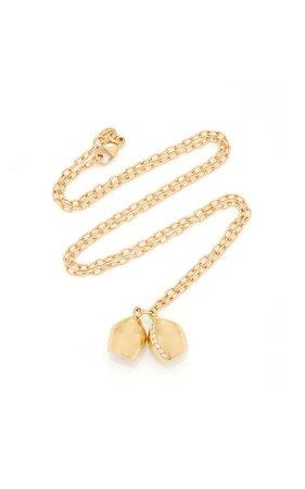 Haute Victoire 18K Gold Diamond Necklace