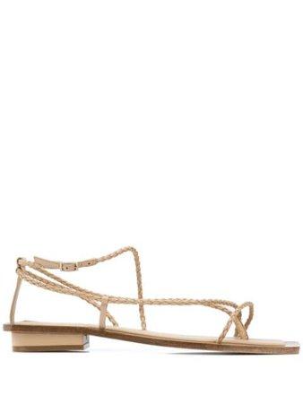 Brown Cult Gaia Juno strappy sandals - Farfetch