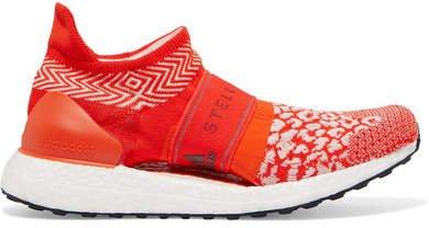 Ultraboost X 3d Leopard-print Primeknit Sneakers - Red