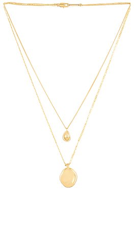 Jenny Bird Mithras Necklace in High Polish Gold | REVOLVE