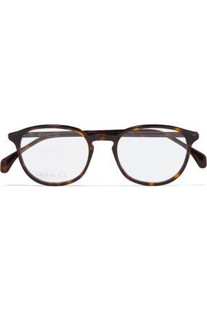 Gucci | Round-frame tortoiseshell acetate optical glasses | NET-A-PORTER.COM
