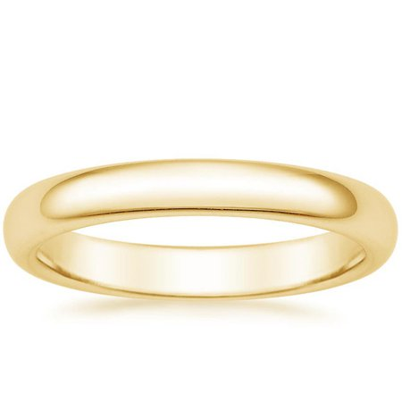 gold wedding band - Google Search