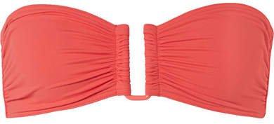 Les Essentiels Show Bandeau Bikini Top - Coral