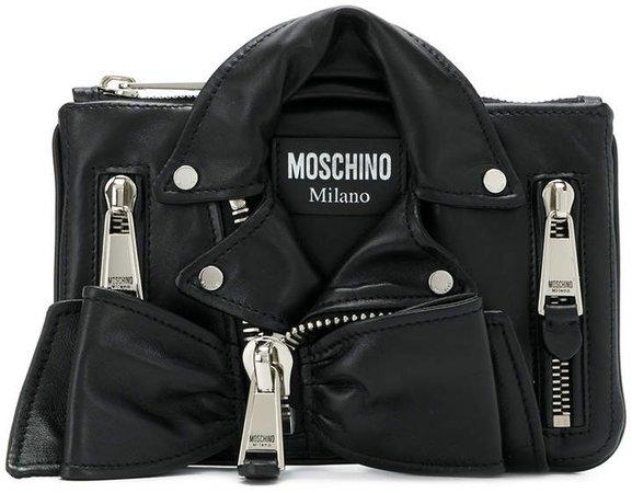 biker clutch bag