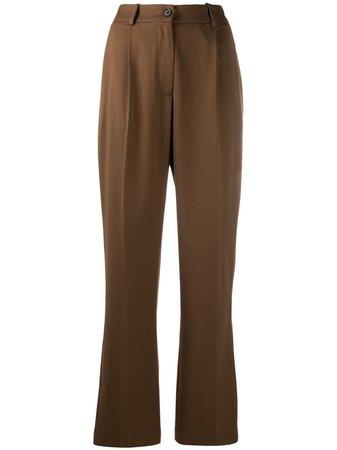 Han Kjøbenhavn pressed-crease Tailored Trousers - Farfetch