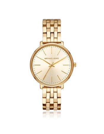 Michael Kors Pyper Gold Tone Watch