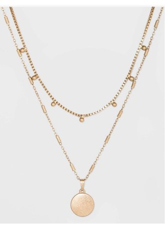 gold layered necklace (1)