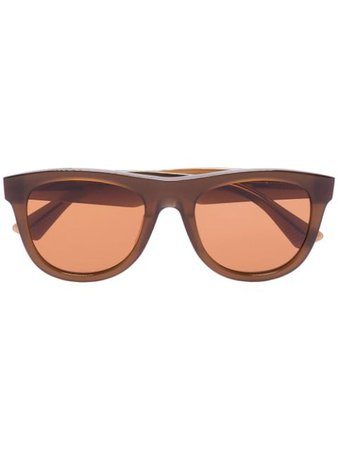 Bottega Veneta Eyewear The Original 01 Sunglasses - Farfetch
