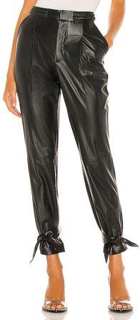 Ivette Leather Pant