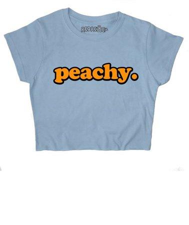 Peachy Crop Top