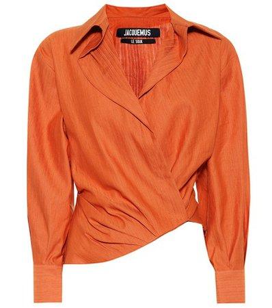 Sabah asymmetric shirt