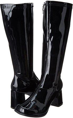 Amazon.com | Ellie Shoes Women's Gogo Boot, Silver, 9 M US | Boots