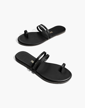TKEES Leah Leather Sandals