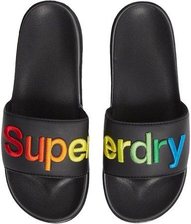 Rainbow Slide Sandal