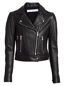 IRO Harley leather moto jacket
