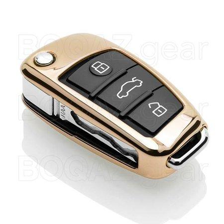 BOQAZ. // Audi Sleutel Cover – Chroom / Chrome sleutelhoesje - BOQAZ.