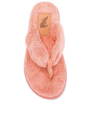 Ancient Greek Sandals Charisma Comfort Terry Sandal in Peach   REVOLVE